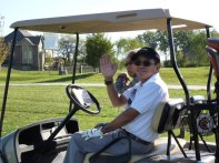 My dad loved golf as much as I love racing triathlons