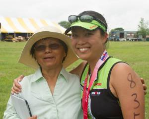 IRONMAN - IM 70.3 Kansas 2015 - Mom