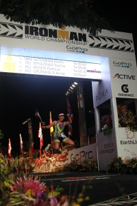 Me - Kona Finish Jumping